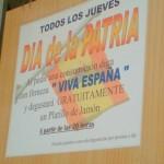 Viva España, aunque sólo sea por comer y beber grátis