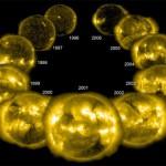 Un ciclo solar completo