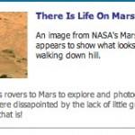 Harto de las figuras en Marte