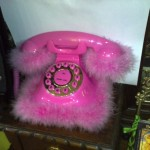 Teléfono rosa