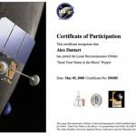 Envía tu nombre a la Luna, por un programador junior de la NASA