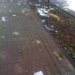 Información confidencial en la basura