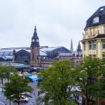 Vistas de central station desde habitación del Hotel Reichshof