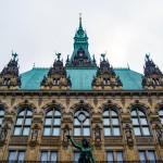Patio interior del Hamburg Rathaus