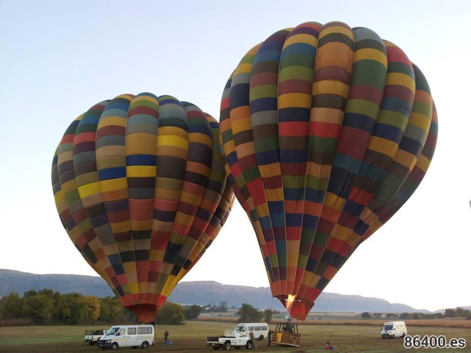 Sobrevolando Sudáfrica