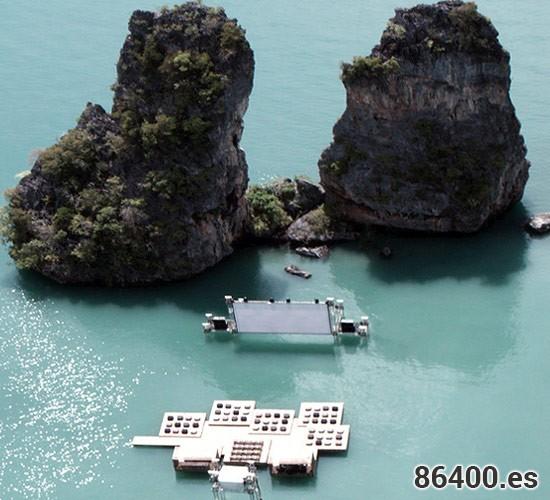 Yao Noi, Cine en una isla de película