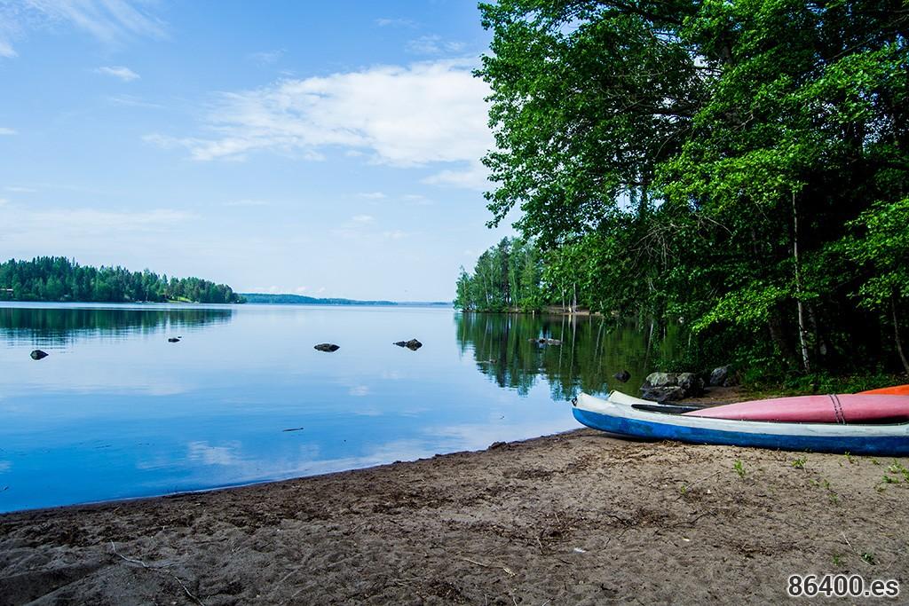 Los lagos de Finlandia desde Tampere