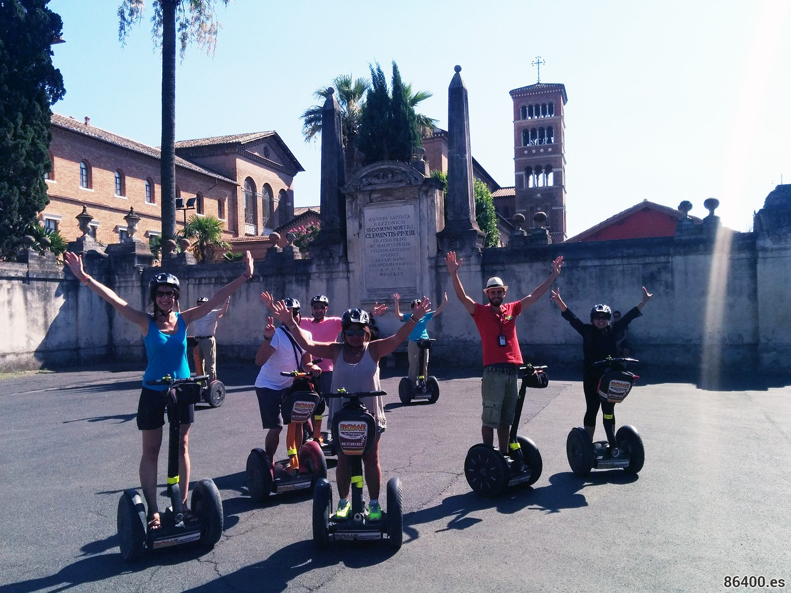 Segway, la mejor forma de conocer Roma