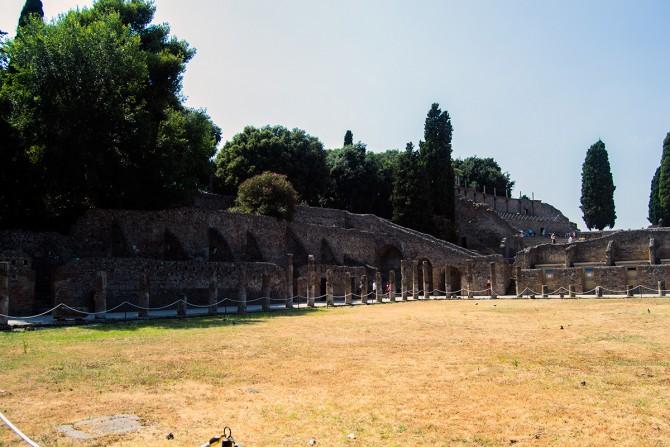 Barraca de los gladiadores de Pompeya