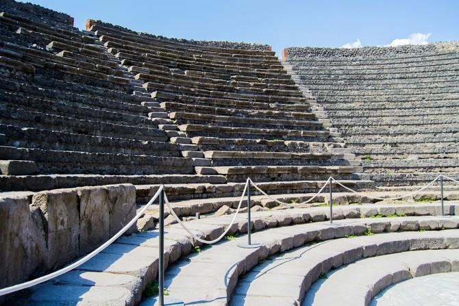 Teatro mayor de Pompeya