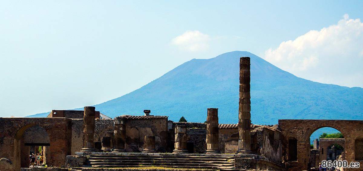 Fantaseando con la Roma Imperial en Pompeya y Mt. Vesubio (parte II)