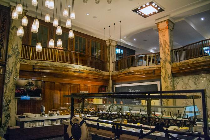 Restaurante Slowman Hotel Reichshof Hamburgo