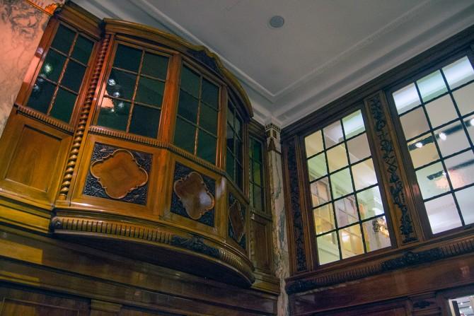 Restauranre Hotel Reichshof Hamburgo