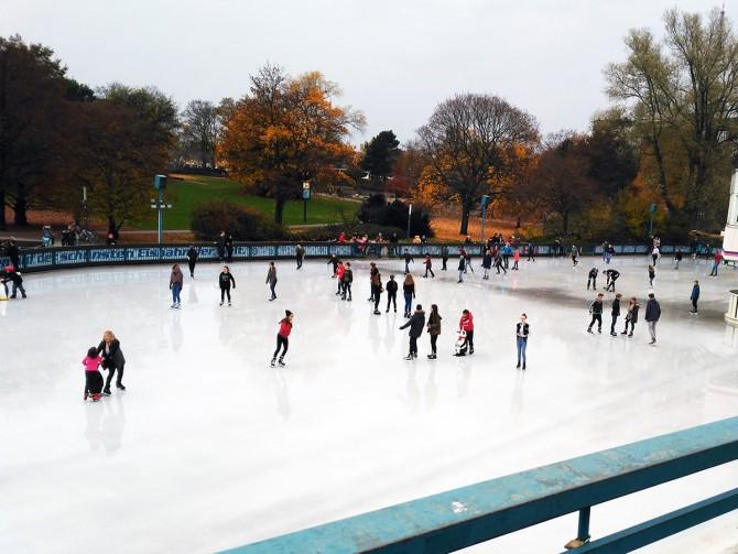 Pista de patinaje sobre hielo Hamburgo
