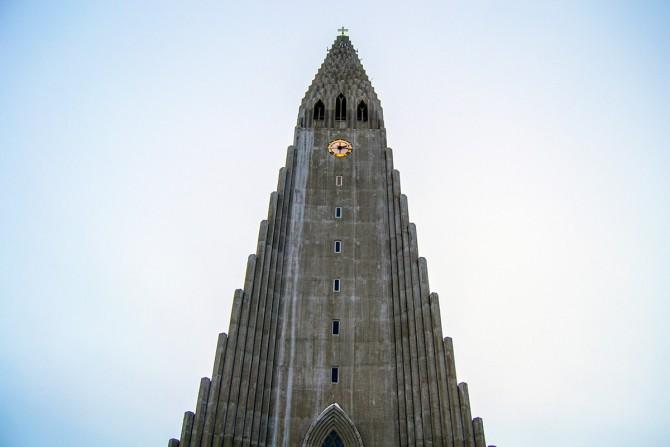 Hallgrímskirkja Reikiavik Islandia