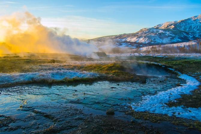 Valle Haukadalurlo Islandia