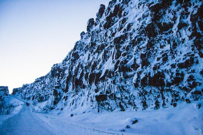 Gran grieta Almannagjá Islandia