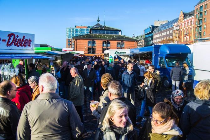 Fischmarkt de Altona Hamburgo