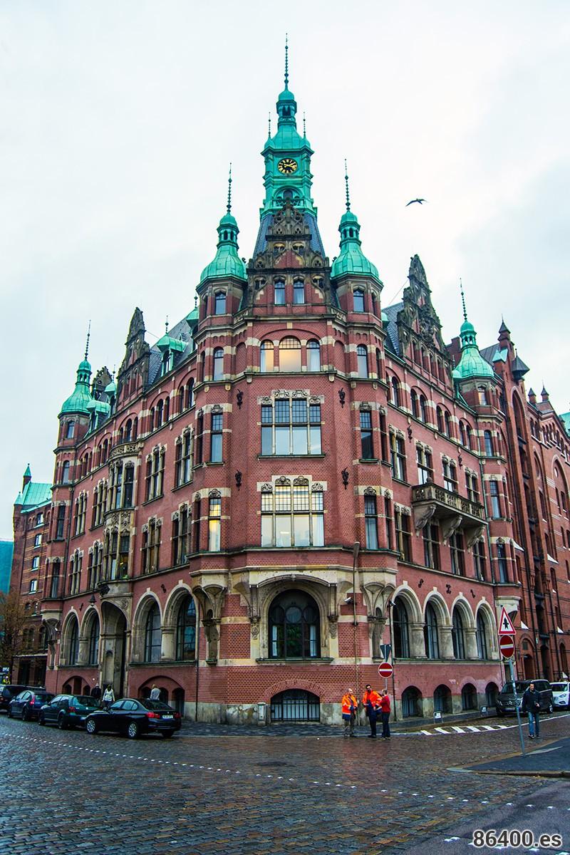 Ayuntamiento del puerto o Hafenrathaus Hamburgo