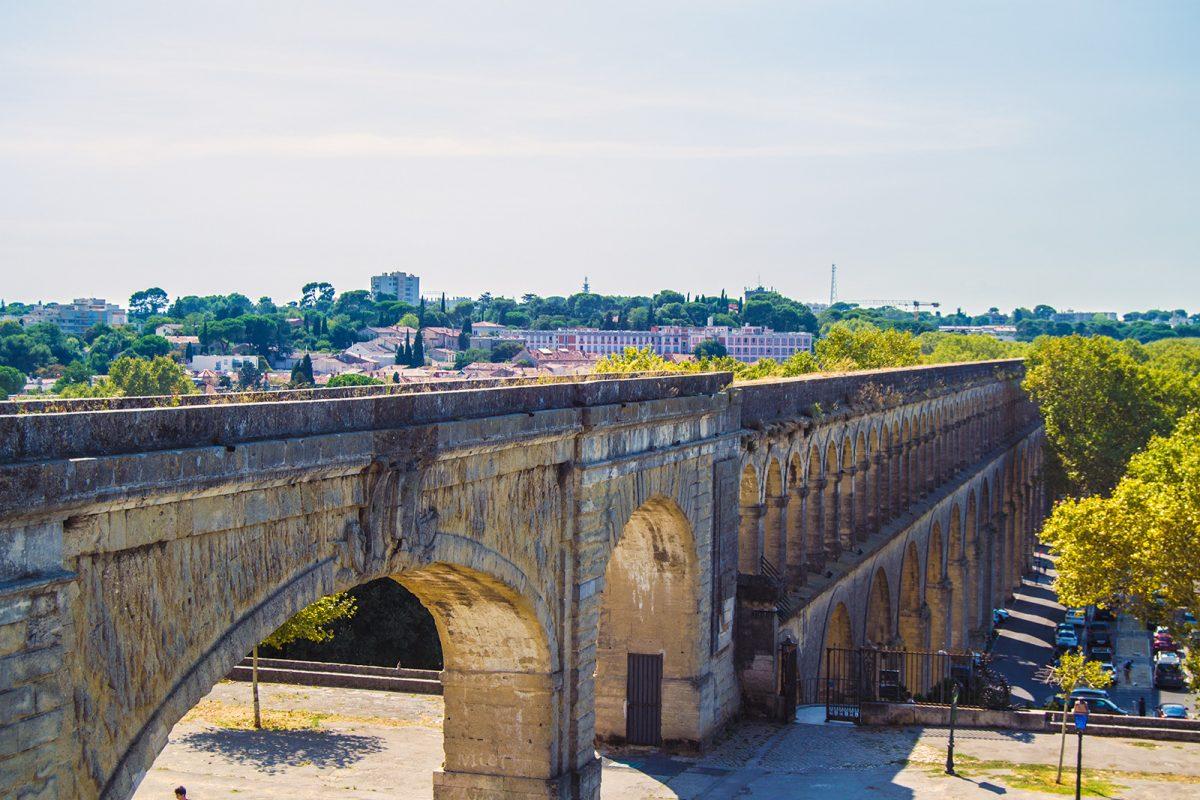 Acueducto de San Clemente en Montpellier - qué ver en Montpellier