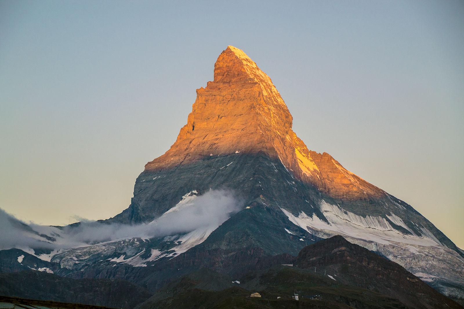 Amanecer en el Cervino - Zermatt en dos días