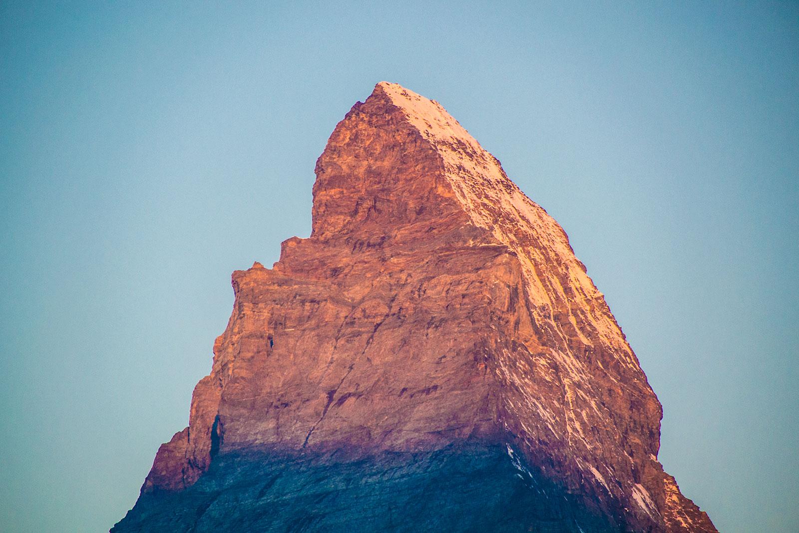 Amanecer en el Cervino 2 – Zermatt en dos días