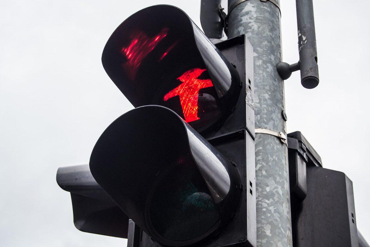 Ampelmann rojo - día 1 en berlín