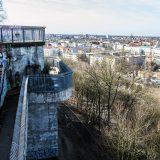 Antiguo búnker ahora convertido en parque y en mirador