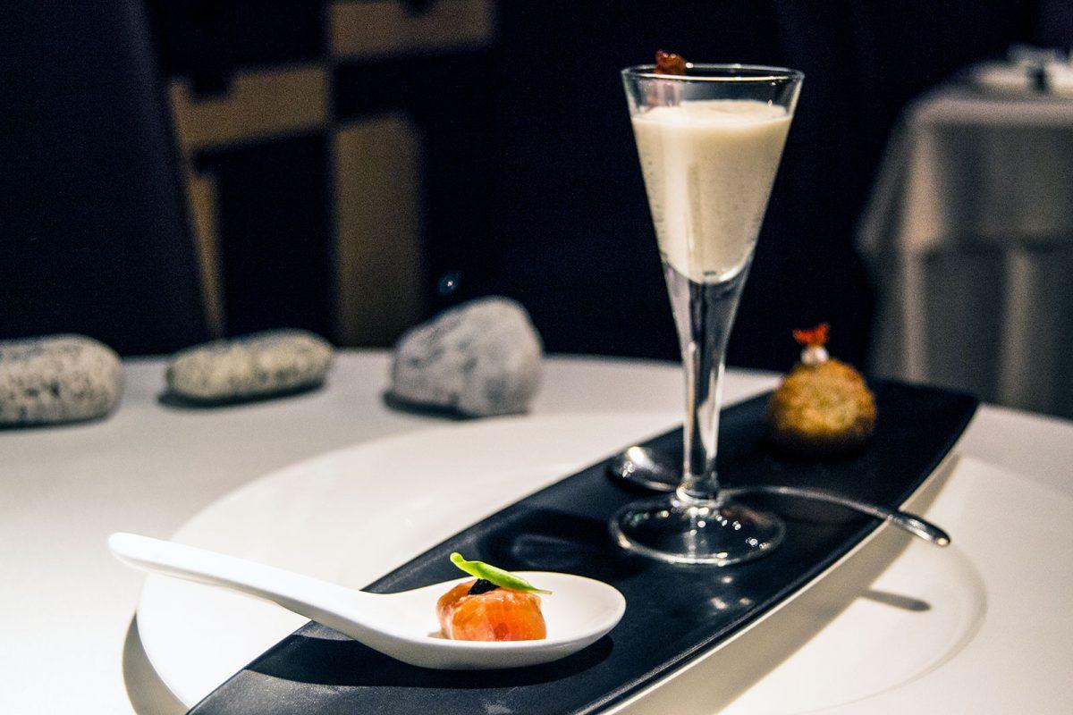 Aperitivo de la casa - Restaurante Nectari Barcelona 2