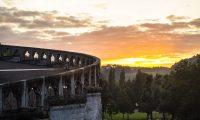 Atardecer en el Santuario de Lourdes 2