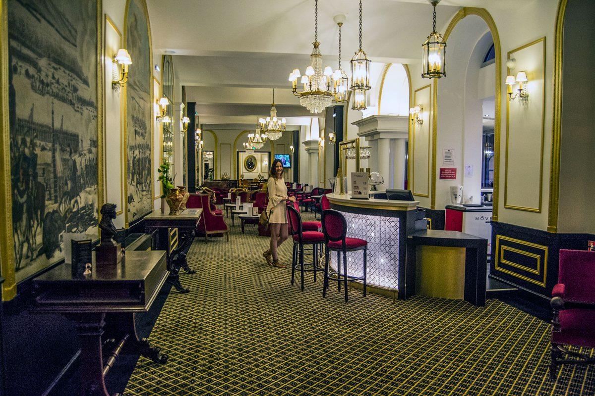 Bar del Hotel Gallia et Londres de Lourdes