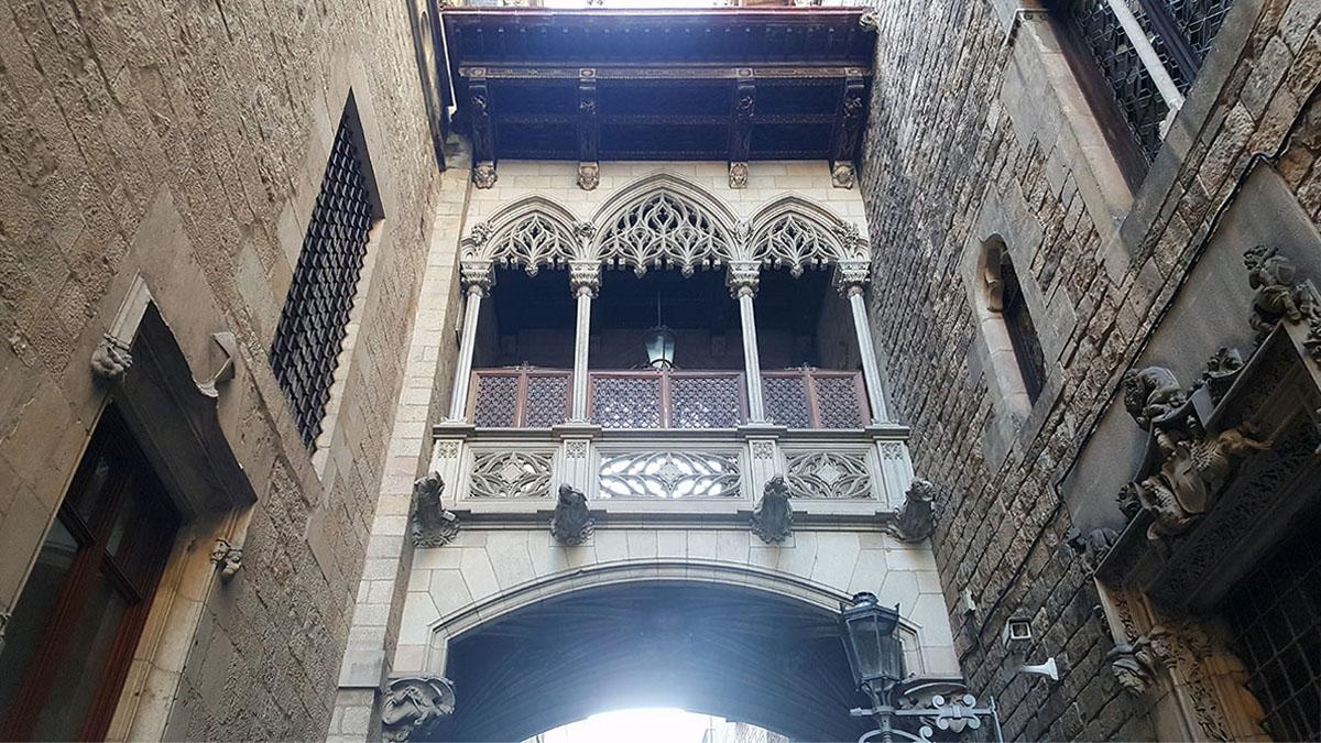 Barrio gótico Barcelona