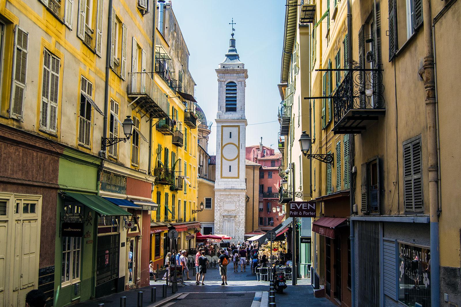 Basílica Catedral de Santa María y Santa Reparata - una mañana en Niza