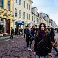 Calle comercial de Postdam – día 3 en Berlín
