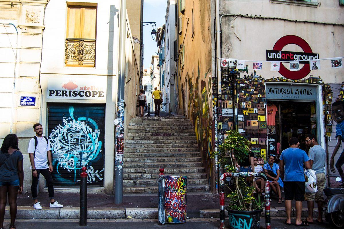 Callejear por Marsella