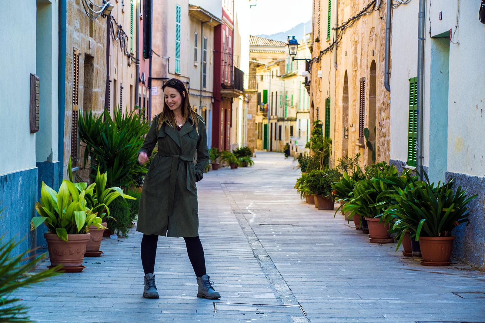 Calles coloridas de Alcudia