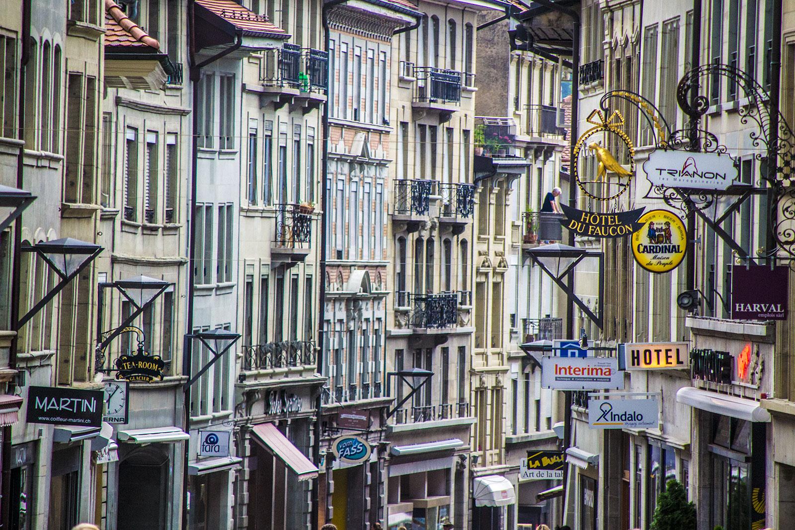 Calles de Friburgo 2 - qué ver en Friburgo