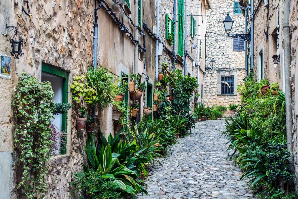 Calles de Valldemosa 2 - Pueblos más bonitos de Mallorca
