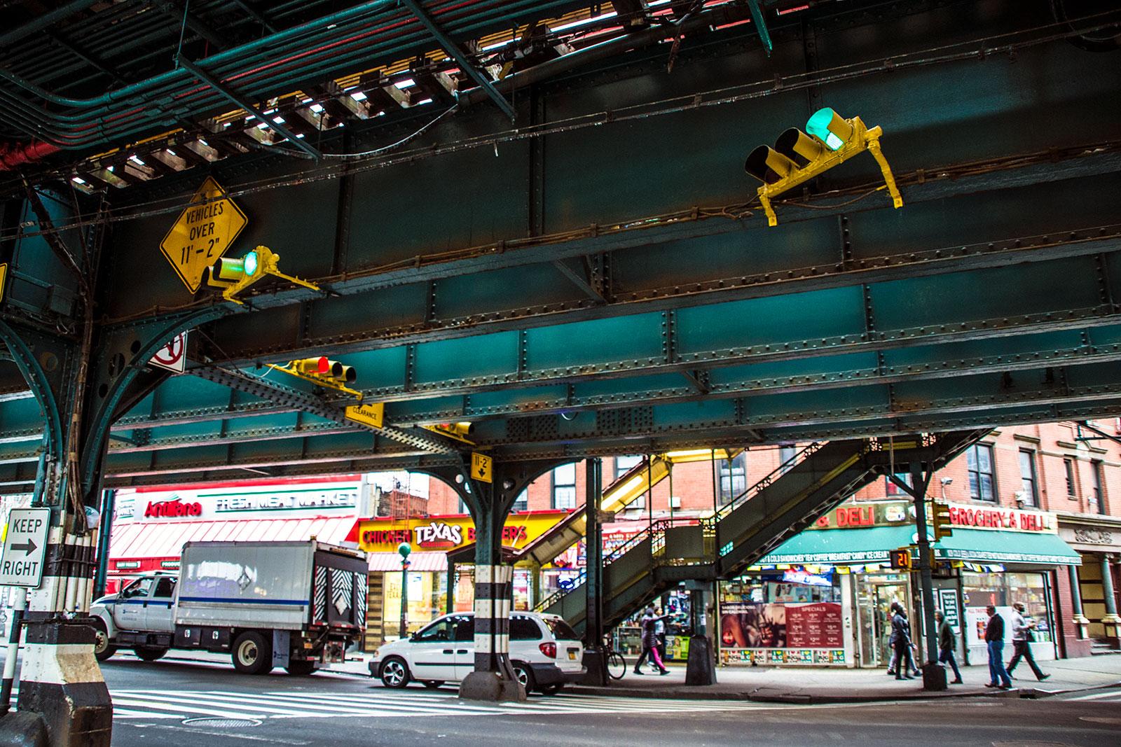 Calles del Bronx - excursiones desde Nueva York