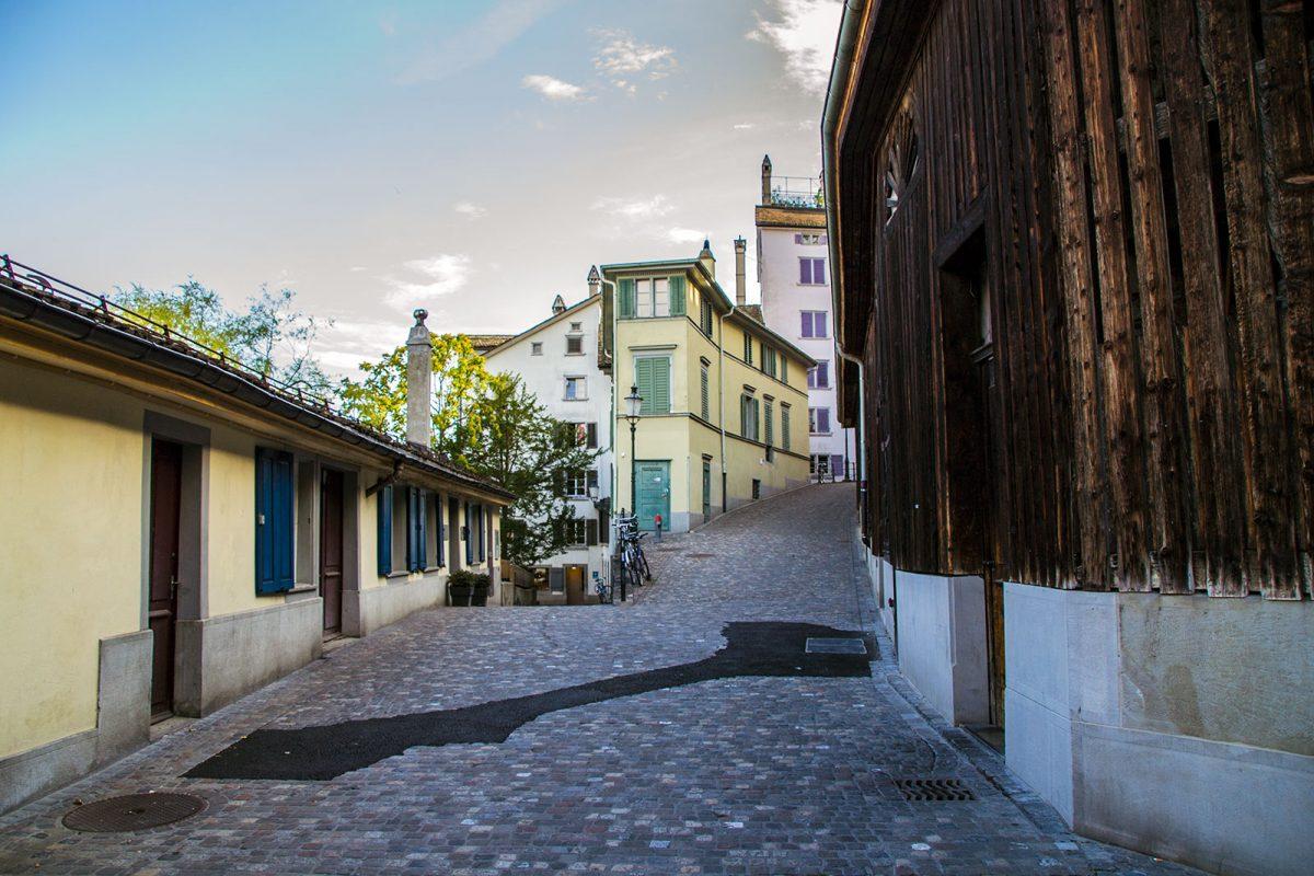 Calles del casco histórico - que ver en Zúrich