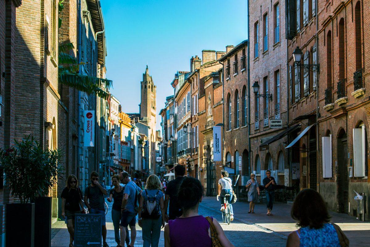 Calles y ambiente de Toulouse
