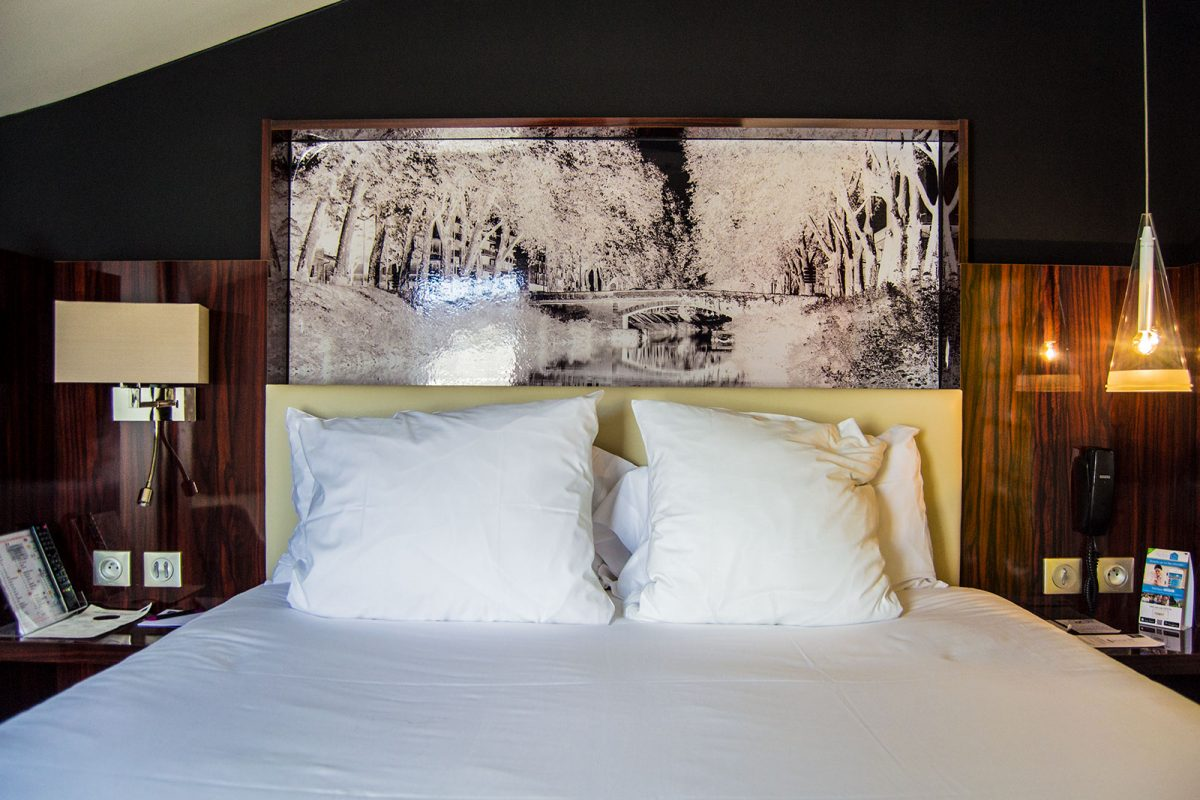 Cama del Hotel Brienne - Toulouse