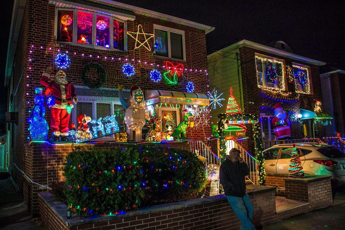 Casas vecinos luces - excursiones desde Nueva York