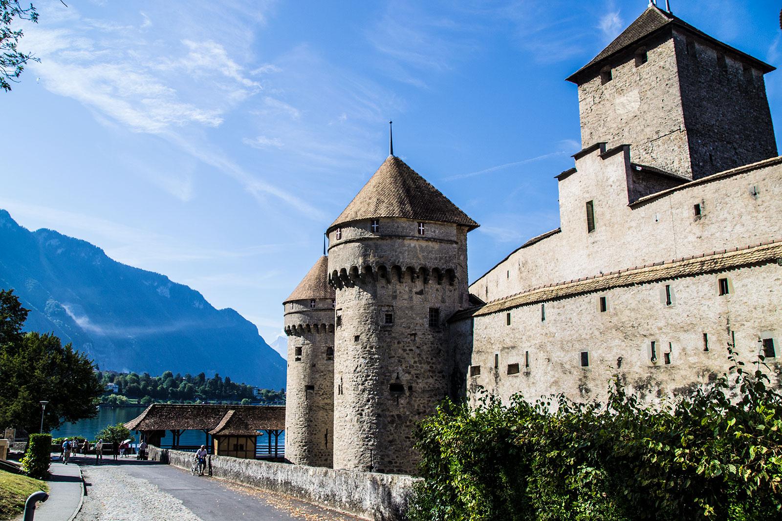 Castillo de Montreux - Montreux la joya del lago Lemán