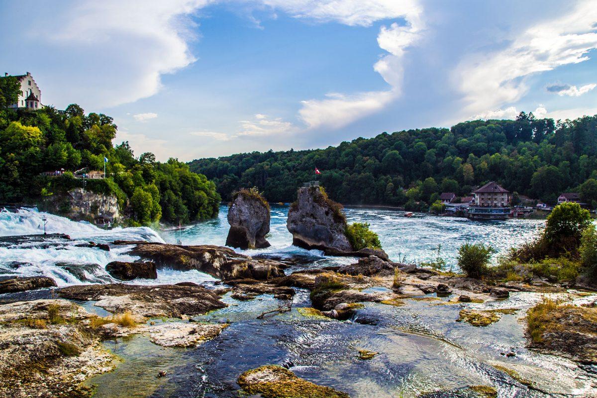 Cataratas del Rin - qué ver en Zúrich