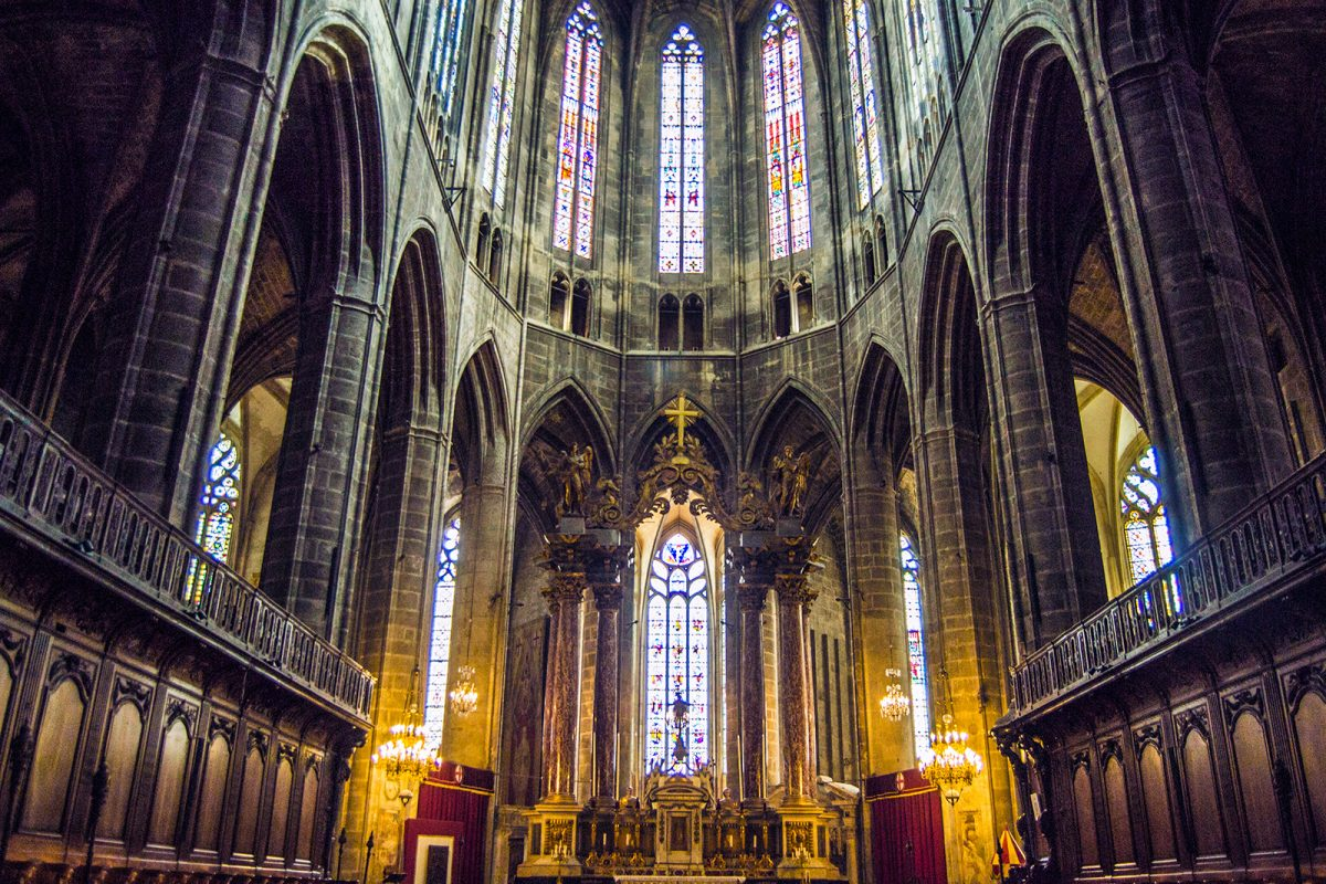 Catedral Narbona - qué ver en Narbona