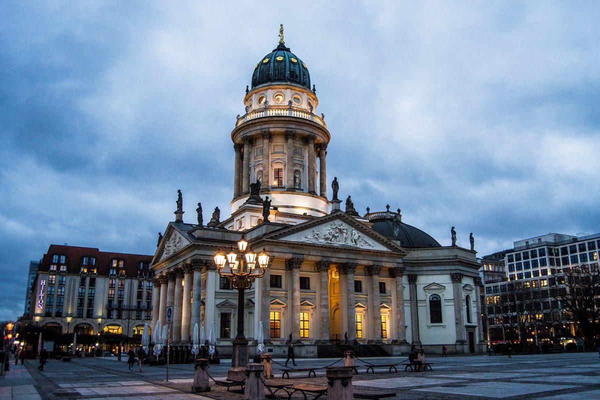 Catedral alemana de la plaza Gendarmenmarkt - día 1 en berlín