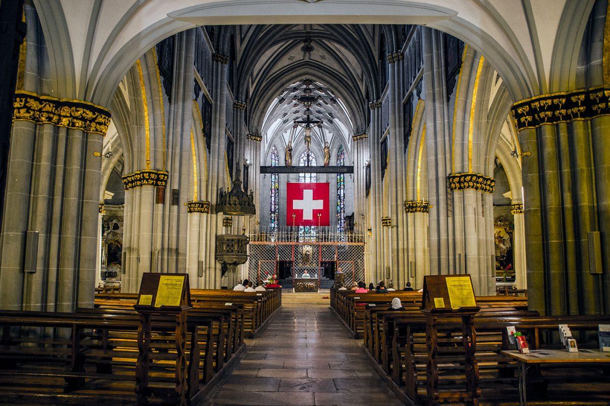 Catedral de San Nicolás Friburgo 3 - qué ver en Friburgo