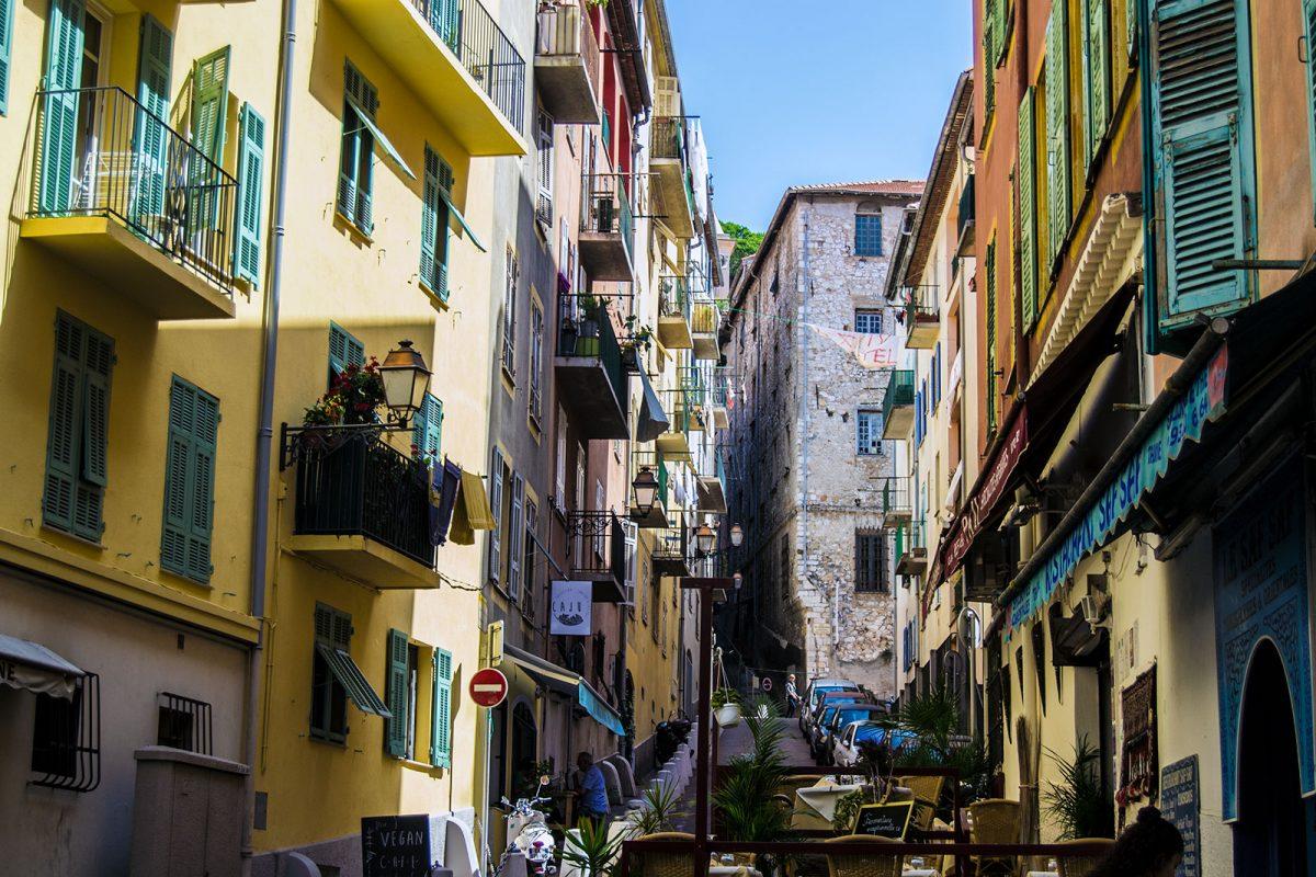 Centro de Niza - un día en Niza y Montecarlo