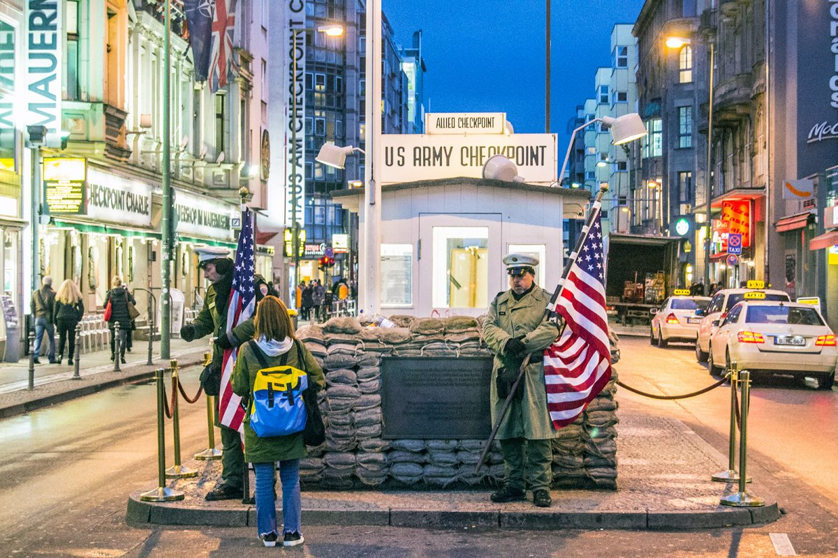 Check point Charlie - día 1 en berlín